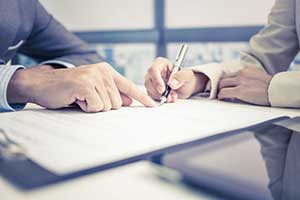 Attorney giving insight into a breach of contract