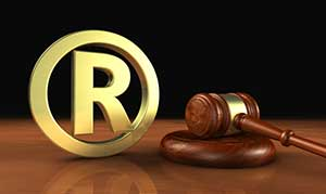 gavel next to rights reserved logo