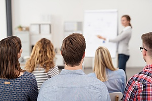 employees receiving sexual harassment training